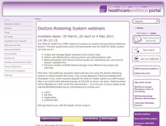 Healthcareworkforce Portal