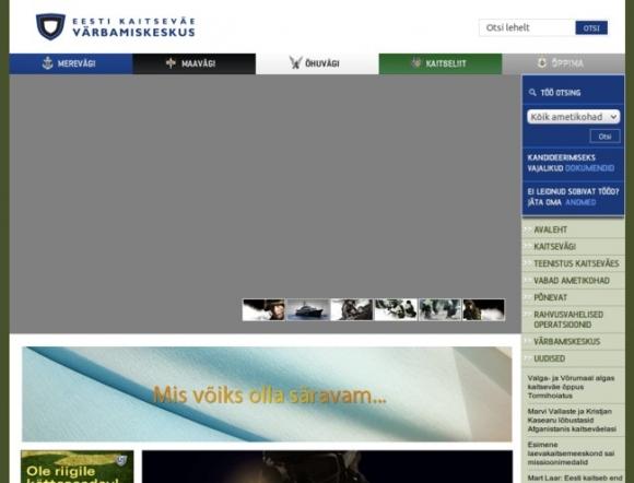Eesti Kaitseväe Värbamiskeskus - Recruiting Center of Estonian Army