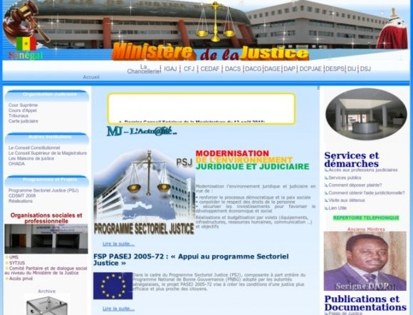 Ministry of Justice - Senegal