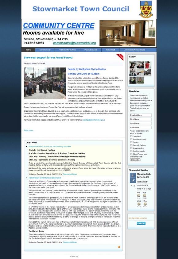 Stowmarket Town Council