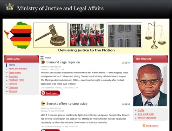 Ministry of Justice and Legal Affairs