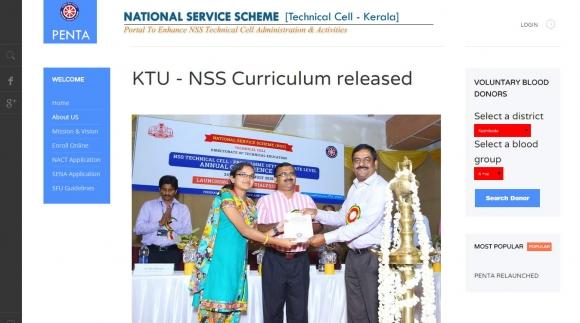 National Service Scheme, PENTA, India, Ernakulam