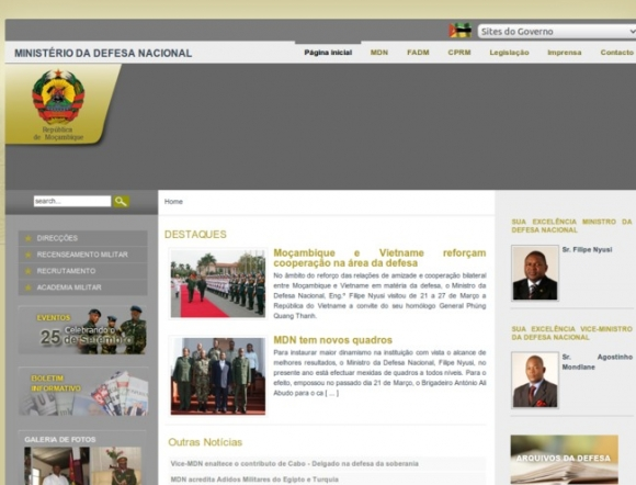 Ministry of National Defence - Mozambique