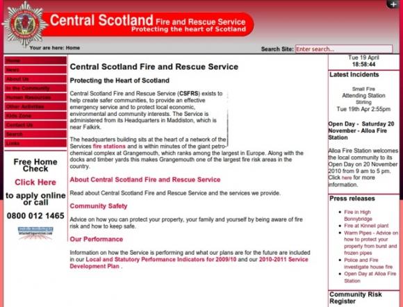 Central Scotland Fire and Rescue Service