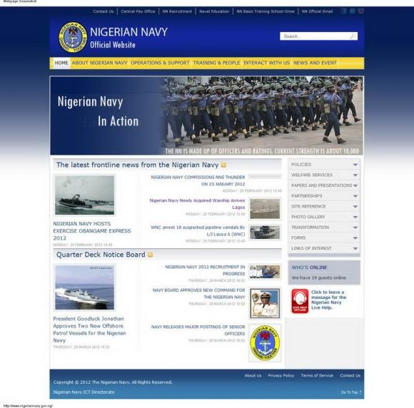 Nigerian Navy - Official Website