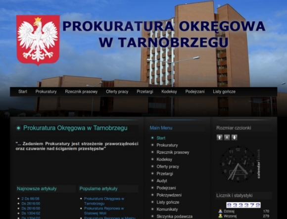 District Prosecutor's Office in Tarnobrzeg