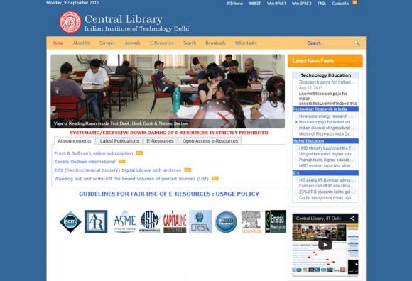 Central Library, IIT Delhi