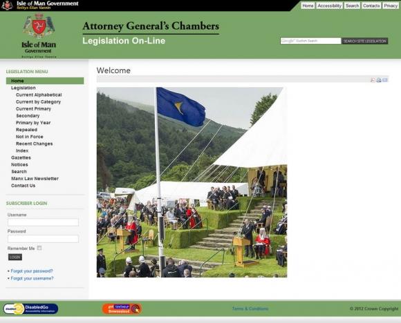 Isle of Man Legislation