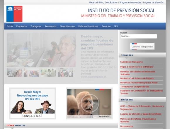 Instituto de Previsión Social - Chile