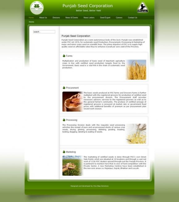 Punjab Seed Corporation