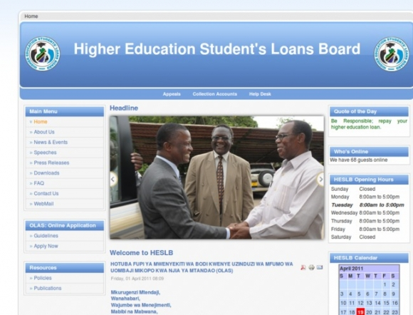 Higher Education Student's Loans Board