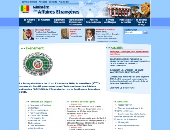 Ministry of Foreign Affairs - Senegal