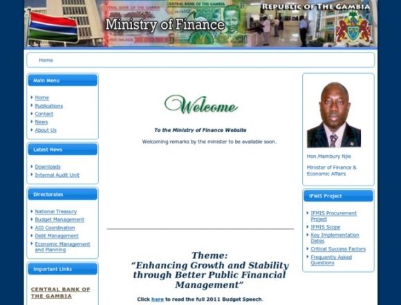 Ministry of Finance - Gambia