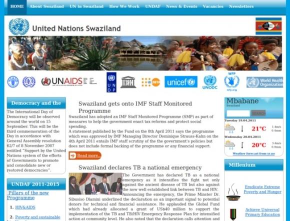UN in Swaziland