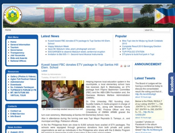 Tupi, South Cotabato