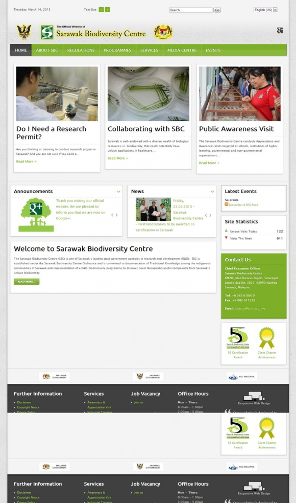 Sarawak Biodiversity Centre