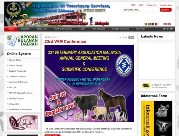 Veterinary Services Department, Perak