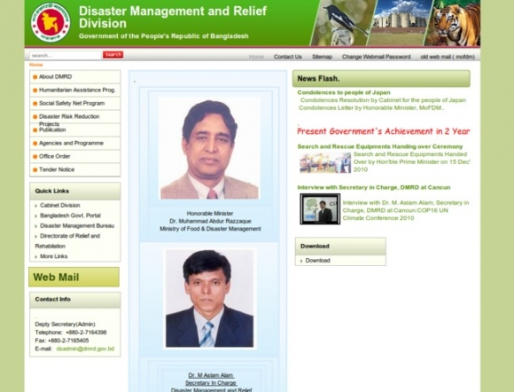 Disaster Management and Relief Division
