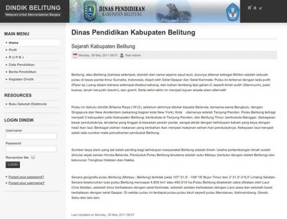 Bangka Belitung Provincial Office of Education