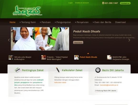 Zakat Infaq & Sadaqah Management Body, Jakarta Special Capitol Region Province