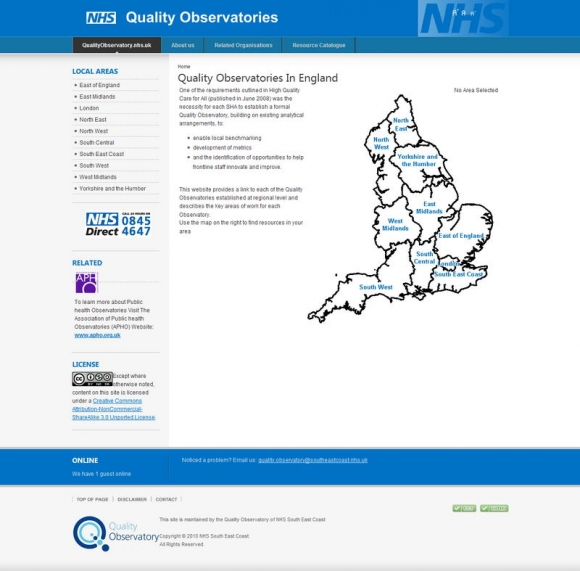 NHS Quality Observatory