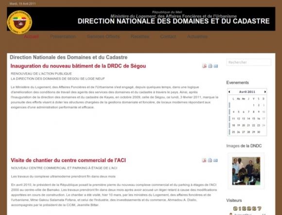 Direction Nationale des Domaines et du Cadastre