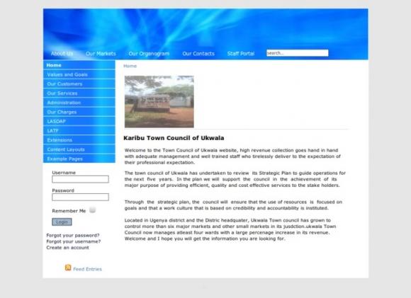 Karibu Town Council of Ukwala