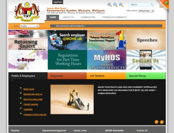 Ministry of Human Resources, Malaysia