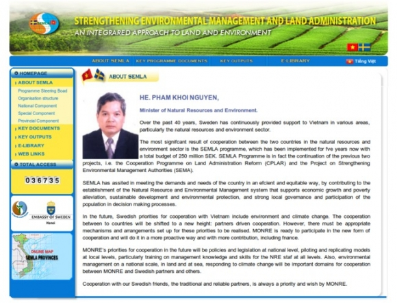 Strengthening Environmental Management and Land Administration