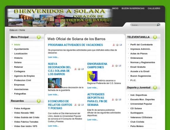 Ayuntamiento de Solana de los Barros