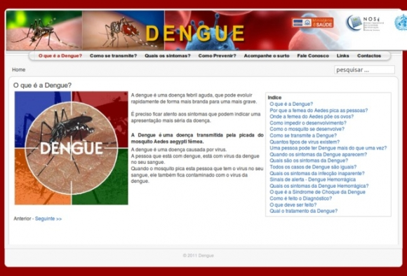 Ministry of Health, Dengue Fever