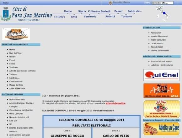 Citta di Faro San Martino
