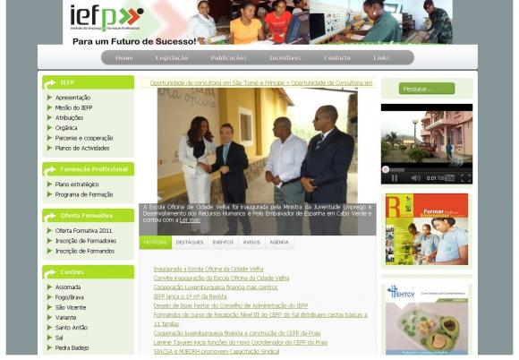 IEFP - Instituto de Emprego e Formação Profissional