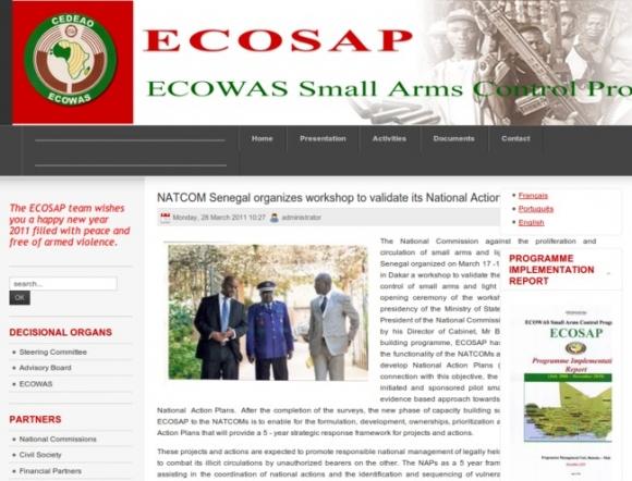 ECOWAS Small Arms Control Programme
