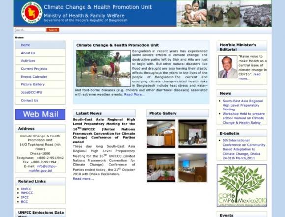 Climate Change & Health Promotion Unit