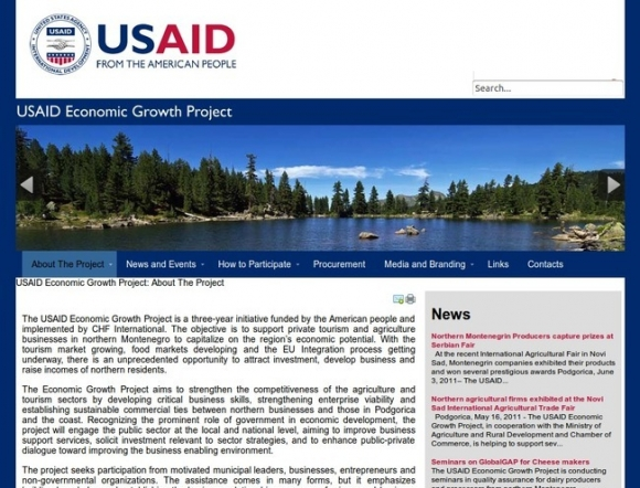 USAID Economic Growth Project
