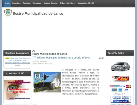 Municipalidad de Lanco