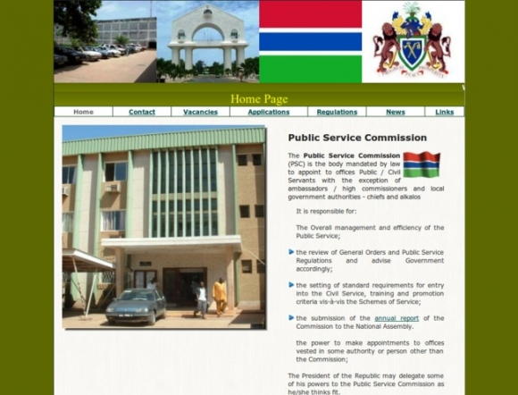 Public Service Commission - Gambia