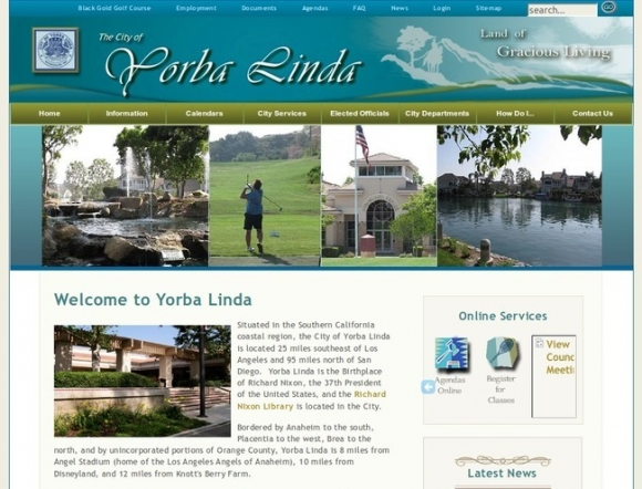 City of Yorba Linda
