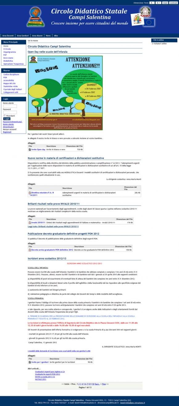 Circolo Didattico Statale Campi Salentina