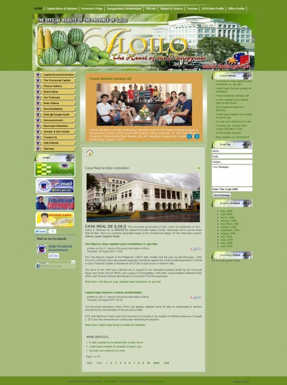 The Official Online Home of the Province of Iloilo