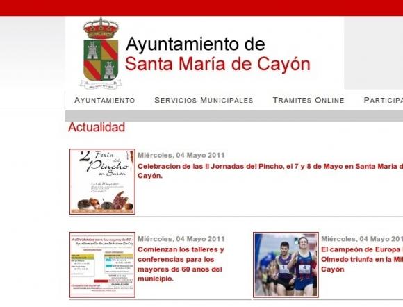 Ayuntamiento de Santa María de Cayón
