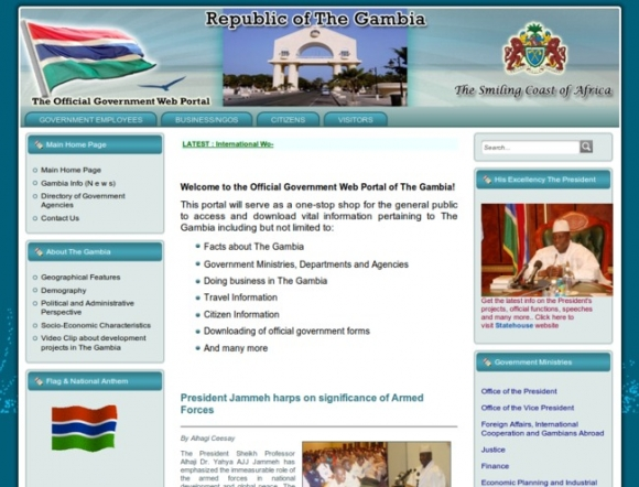 Official Government Web Portal