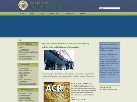 The Bureau of Immigration