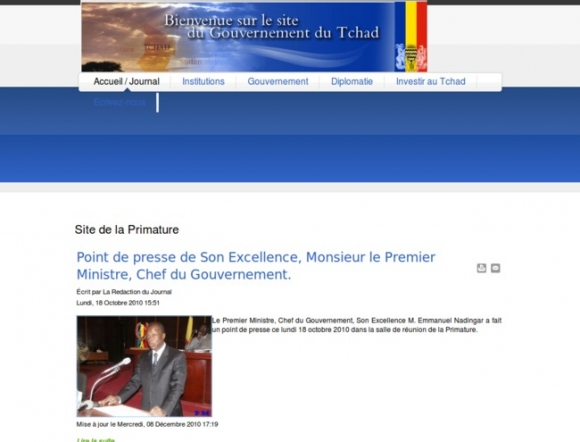Government of Tchad