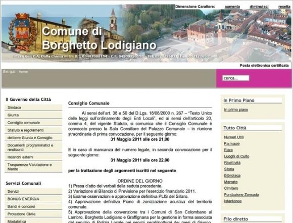 Comune di Borghetto Lodigiano