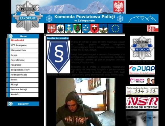 Police Headquarters in Zakopane
