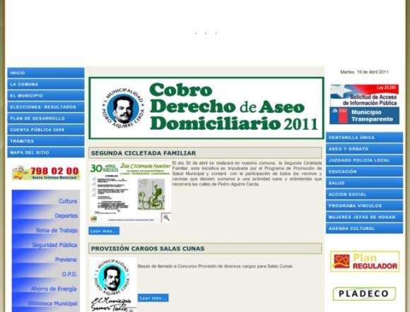 Municipalidad de Pedro Aguirre Cerda