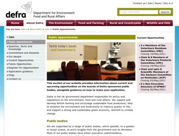 Department for Environment & Rural Affairs