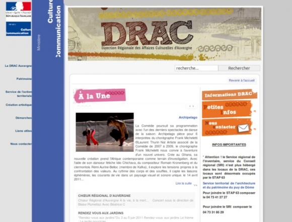 Direction Régionale des Affaires Culturelles d'Auvergne